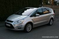 Ford S-MAX 2.0TDCi 163KM Automat Titanium 7-mio osobowy Navi Panorama Dach Salon PL  FV23%