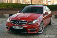 Mercedes-Benz C63 AMG Special Edition   Pakiet Performance 6.3 V8 487KM FV23%!!!